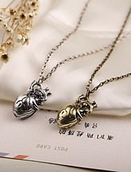 Movie Acc Heart Shape Pendant Necklace