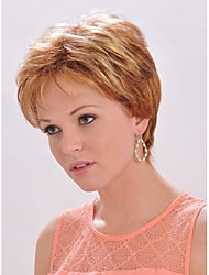 Charming  Ladys'  Short Synthetic Hair Wave Wigs