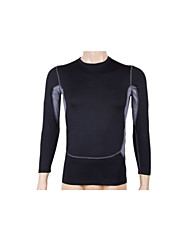 Per uomo Top Sport Traspirante / Asciugatura rapida Nero S / M / L / XL / XXL Fitness - Altro