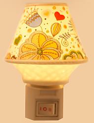 créatrice en céramique lampe nuit lampe de chevet lampe parfum cadeau de fête élégant design pattern