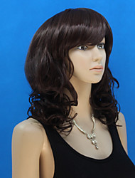 Europe And The United States  New Black Long Hair Curly Hair Wig