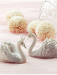 Creative new swan card holder seats (Set of 2)