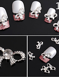 10pcs Bow Nail Jewelry