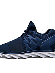 Men's Walking Shoes Fabric Black / Blue / Gray