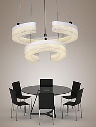 Lampe suspendue ,  Contemporain Autres Fonctionnalité for LED AcryliqueSalle de séjour Chambre à coucher Salle à manger Bureau/Bureau de