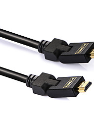 Shengwei® HDMI 1.4-HDMI 1.4 1080P / Gold Plated / High Speed Cable 4K*2K 2.0m(6.5Ft)
