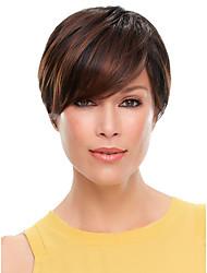 alta qualidade de cor loiro syntheic peruca onda