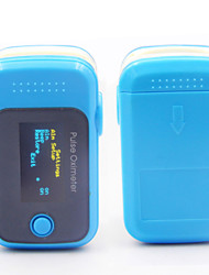 Alarm Health Necessities Fingertip Pulse Oximeter Blood Oxygen SpO2 Saturation Oximetro Monitor BP Sound Function