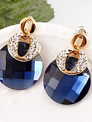 European Style Gold Plated Rhinestone Elegant Earring