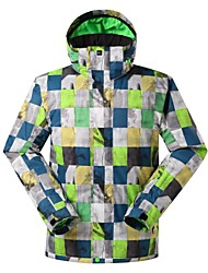 Men's Tops/Ski/Snowboard Jackets Skiing/Camping&Hiking/Snowsports/Downhill/SnowboardingWaterproof/Breathable