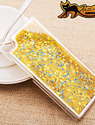 Back Cover Flowing Quicksand / Liquid Glitter Shine Plastic(PP/PVC/PC/ABS) HardHuawei Huawei P8 / Other
