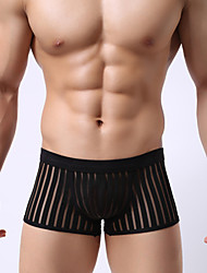 Men's Translucence  Boxers/U Convex Pants/Low-waistline Underwear