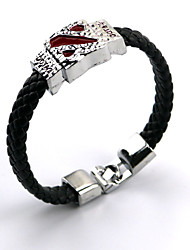 dota2 prata logotipo liga emblema estilo punk pulseira de couro pulseira de mais acessórios