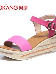 Aokang Women's Suede Sandals