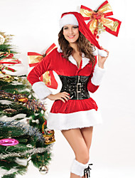 Halloween  Christmas Cosplay New Year Female Princess Series Costumes  Santa Suits Holiday Jewelry Skirt