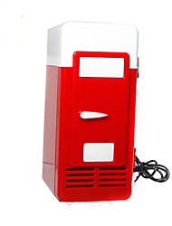 Mini USB Fridge  Cooler/Warmer Refrigerator Creative Gifts Toys