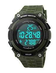 Skmei® Men's  Outdoor Sports Multifunction LED Watch 50m Waterproof Assorted Colors Wrist Watch Cool Watch Unique Watch