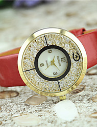 Women's European Style Fashion Acrylic Shiny Quicksand Watch Gift Cool Watches Unique Watches