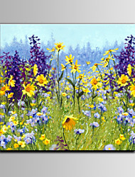 Lavender Flower Oil Painting IARTS Brand Wall Art Free Shiping With DIY Frame