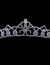 Full AAA CZ Tiaras Bridal Crowns Wedding Hair Jewelry Accessories Birthday Party Headband