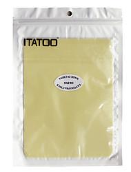 itatoo® 10 hojas piel de la práctica del tatuaje para principiantes 7.87 * 5.9 pulgadas