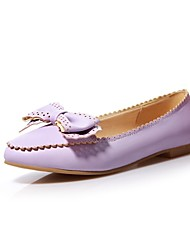 Girls' Shoes Outdoor / Party & Evening / Athletic / Dress / Casual Round Toe Leatherette Heels Blue / Purple / Beige