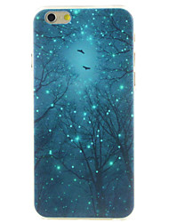 Luminous tree High Quality and Good Price Pattern  Hard Case for iPhone 6/6S
