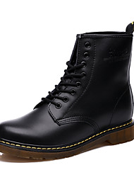 Men Leather Boots Snow Boots Ankle Boots