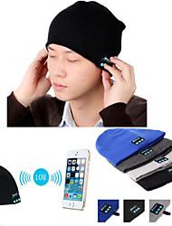 теплый шапочки шляпы беспроводной Bluetooth смарт крышка для наушников гарнитуры спикер микрофон для iphone Sumsung мобильного телефона