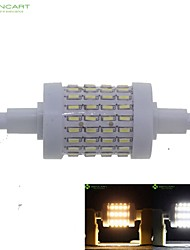R7S 78mm 72 SMD 4014 7W Warm/Cool White 550-600LM 360°Beam Horizontal Plug Dimmable Flood Light AC85-265V