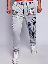Pantaloni della tuta Uomo Casual Con stampe Poliestere