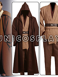 Cosplay Costume Inspired By Star Battle Obi Wan Kenobi Jedi Tunic Anime Cosplay Costume for Adult Kids New Version