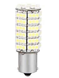 2 * voiture 1156 frein à queue blanche 120 SMD LED lampe ampoule