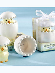 Eggy Chicks Salt And Pepper Shakers Baby Shower Favors, Wedding Gifts