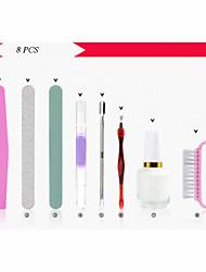 8PCS Nail Art Care Tool Polish Kits