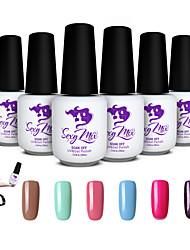 Sexy Mix Soak Off UV Gel Polish for Nail Art Gel Color Nail Gel Nail Varnish