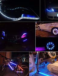 Super Bright Daytime Running Light 12V 30cm Waterproof Light LED 15SMD Flexible Universal Car Styling Car Strip Light