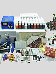 BaseKey Tattoo Kit 223  2 Machines With Power Supply Grips Cups Needles(Ink not included)