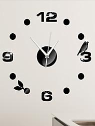 Outros Moderno/Contemporâneo Relógio de parede , Outros Plástico 17*17 inch (43*43cm)