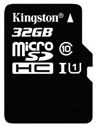 original kingston 32gb klass 10 micro sd sdhc tf flashminneskort med hög hastighet äkta