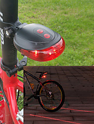 Bike Lights / Rear Bike Light LED / Laser - Cycling Warning / Easy Carrying AAA 100 Lumens Battery Cycling/Bike-Lights