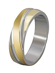 Очаровательный / Для вечеринки / Для офиса / На каждый день - Кольцо-обод ( Титановая сталь