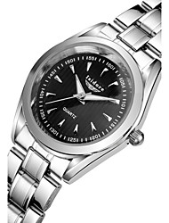Women's Fashion Watch Water Resistant / Water Proof Quartz Stainless Steel Band Silver
