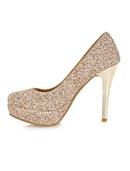 Women's / Girl's Wedding Shoes Heels Heels Wedding / Office & Career / Party & Evening / Dress Black / Green / White /
