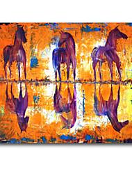 дизайн живопись животное iarts бренд хорошее качество три лошади маслом