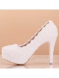 Women's Wedding Shoes Heels Heels Wedding / Party & Evening / Dress White