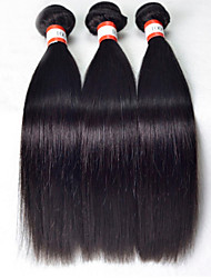 "3pcs/lot 8""-30""Unprocessed Malaysian Hair Human Hair Weaves Straight Hair Human Hair straight human virgin hair"