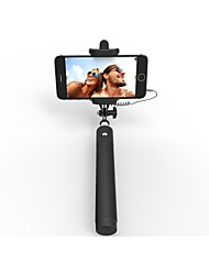 vormor®selfie bâton avec obturateur intégré à distance avec support de téléphone réglable pour Apple, les smartphones Android