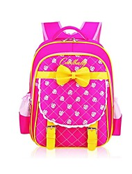 Korean Fashion Nylon Fabric Waterproof Kids Girls School Backpack Rucksack For Primary School