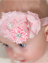 Kid's Crystal Colorful Flowers Headband (3 Month-3Years Old)